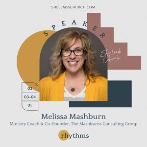 Melissa Mashburn: Speaker at Rhythms Event